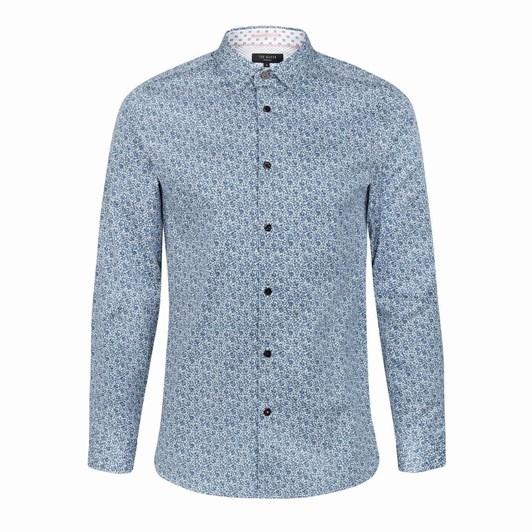Ted Baker Copop Long Sleeve Floral Shirt