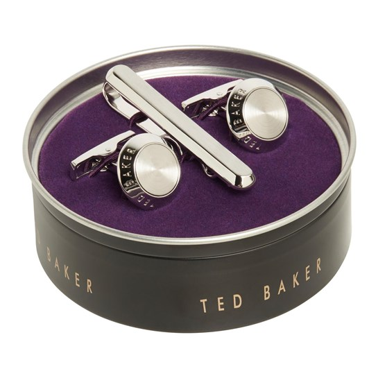 Ted Baker Piston Cufflink And Tie Bar Gift Set