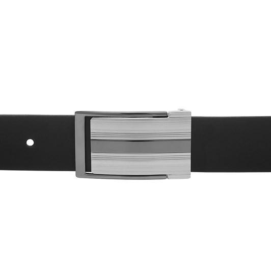 Buckle Full Grain Leather Belt 35mm