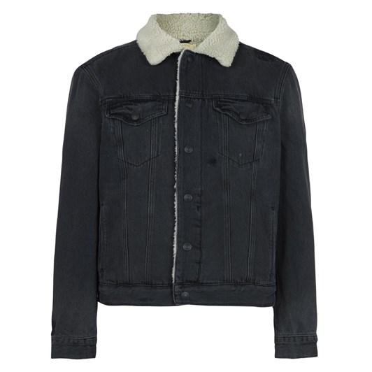 AllSaints Morton Sherpa-Lined Denim Jacket