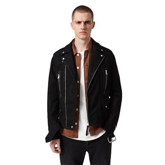 AllSaints Bronto Leather Biker Jacket