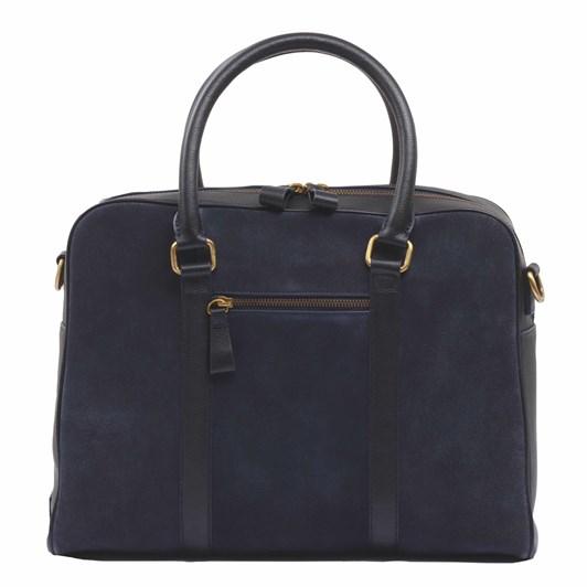 Ashwood  Winston Suede Laptop Bag