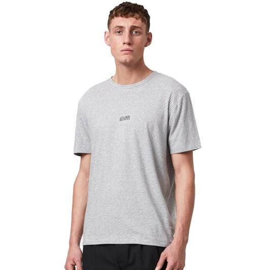 AllSaints Statestripe SS Crew T-Shirt