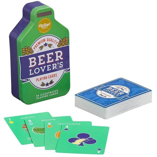 Ridleys Beer Lovers Playing Cards
