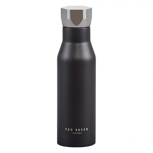 Ted Baker Water Bottle Hexagonal Lid Black 425ML