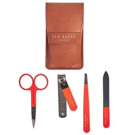 Ted Baker Manicure Kit Tan Brogue