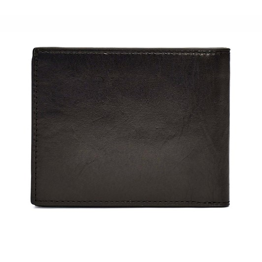 Tommy Hilfiger Polished Leather Mini CC Wallet