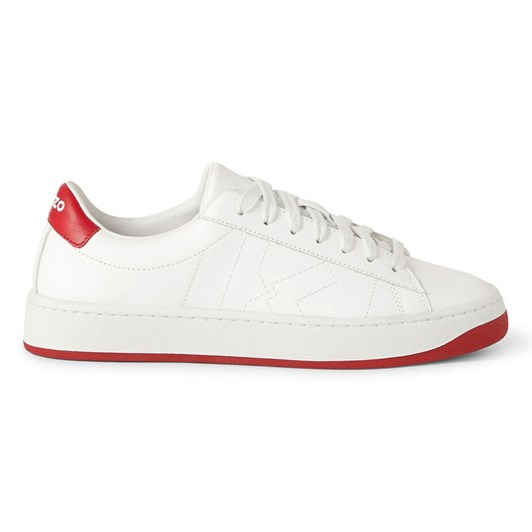 KENZO KENZO Kourt K Logo Leather Sneakers