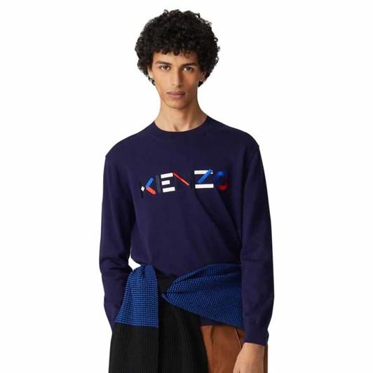 KENZO Multicoloured Logo Jumper
