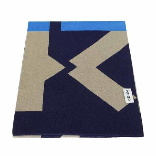 KENZO Echarpe Sport Wool Scarf