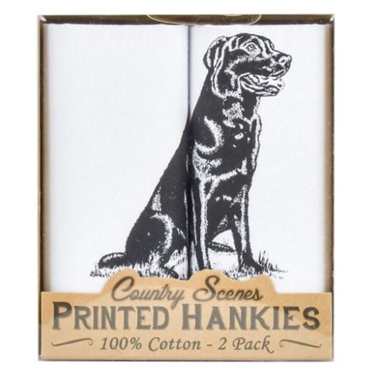 Sophos 2 Pack Handkerchiefs Labrador