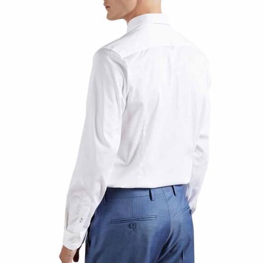 Ted Baker Bobcut Long Sleeve Satin Stretch Shirt