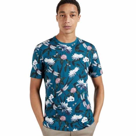 Ted Baker Jimbod Short Sleeve Printed T-Shirt
