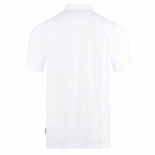 Ted Baker Planta Short Sleeve Textured Panel Polo