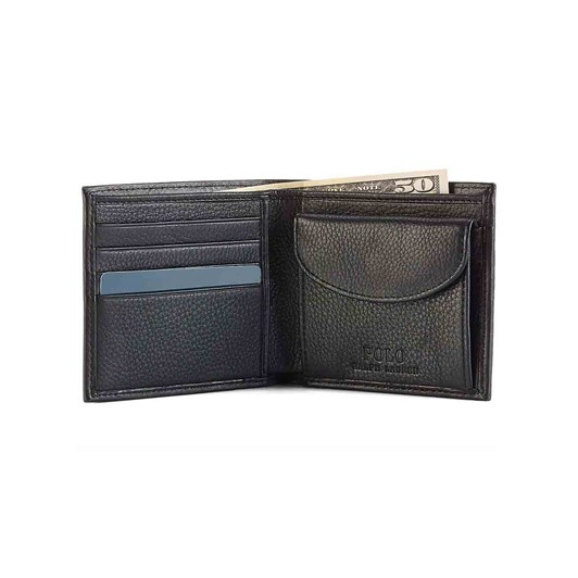 Polo Ralph Lauren Coin-Pocket Leather Wallet