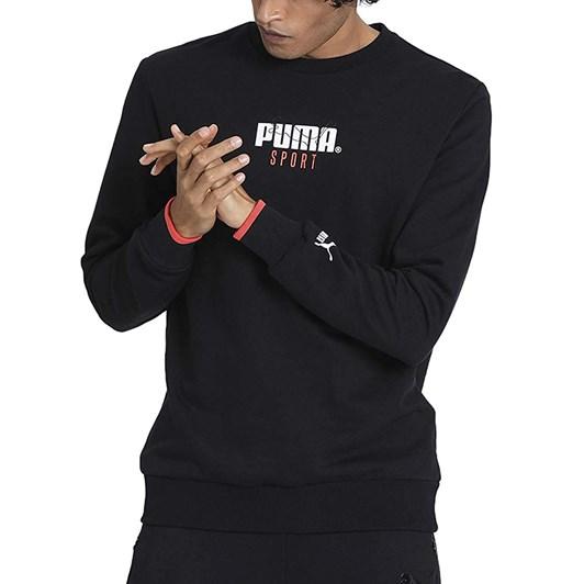Puma Sport Crew Sweat - Cotton Black