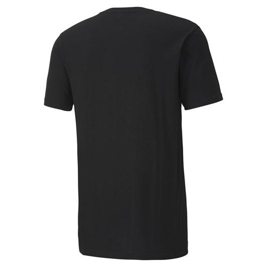 Puma Sport Graphic Tee - Cotton Black