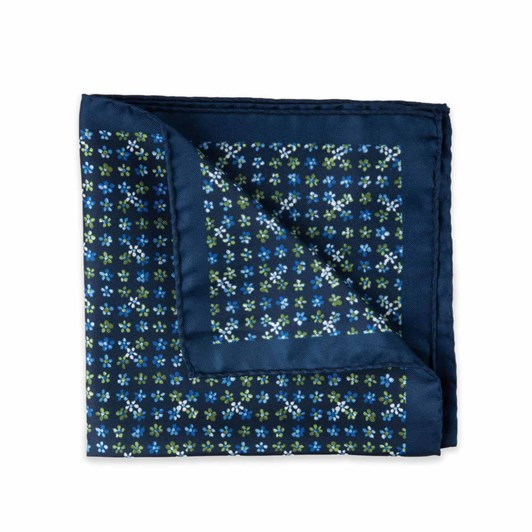Gibson Forget Me Not Pocket Square