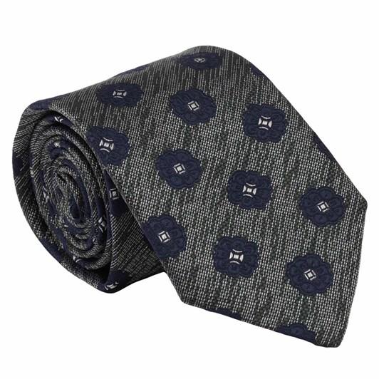 Joe Black Matte Foulard 7.5Cm Tie