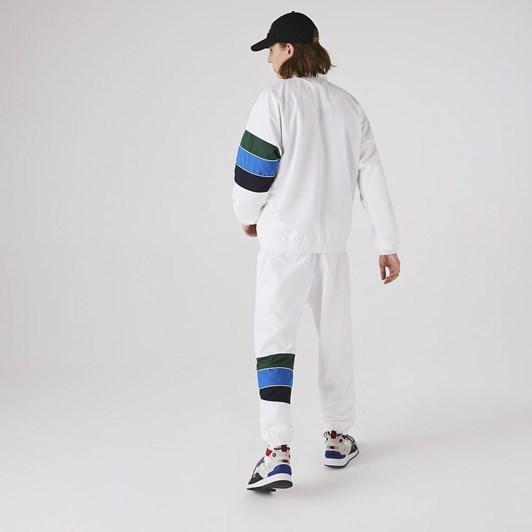 Lacoste  Lifestyle Stripe Jacket White/Navy Blue-