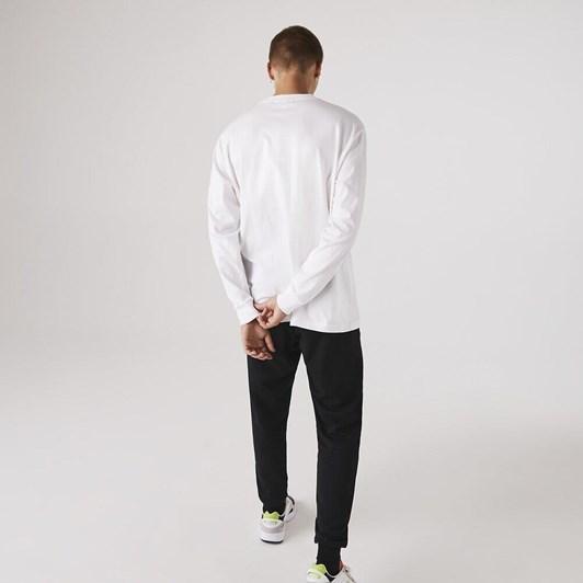 Lacoste  Ls Croc Jersey T-Shirt White