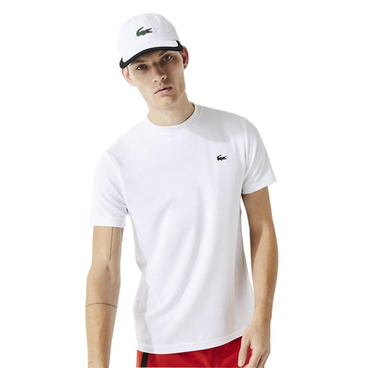 Lacoste ULTRA DRY T-SHIRT WHITE