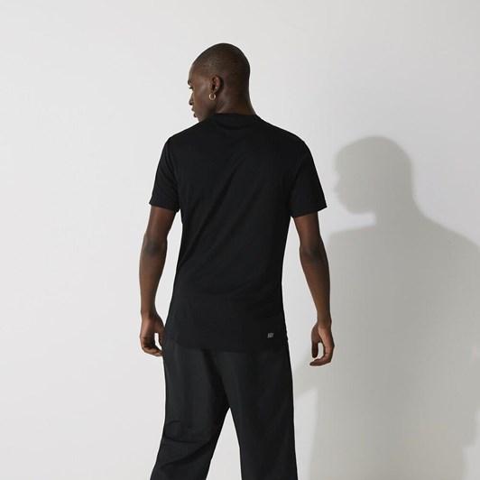 Lacoste ULTRA DRY T-SHIRT BLACK