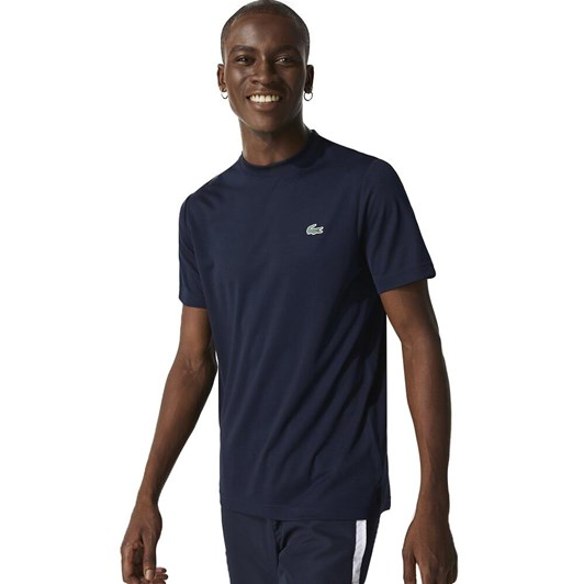 Lacoste ULTRA DRY T-SHIRT NAVY BLUE