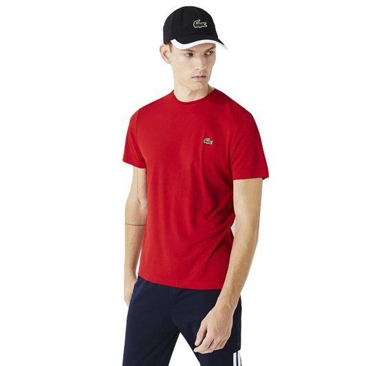 Lacoste ULTRA DRY T-SHIRT RED