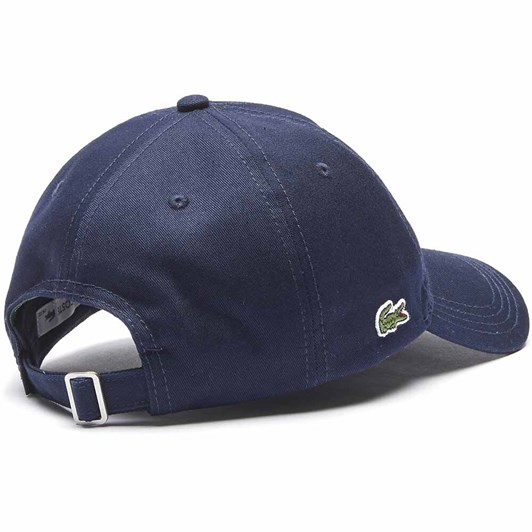 Lacoste  Signature Twill Cap Navy Blue