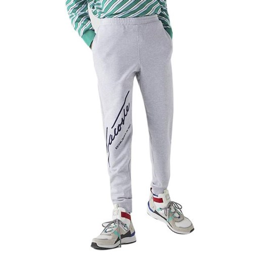 Lacoste SIGNATURE TRACK PANT SILVER CHINE