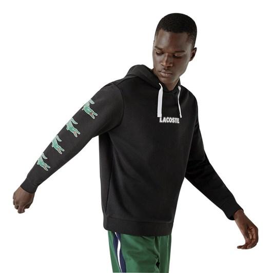 Lifestyle Logo Hoodie Black