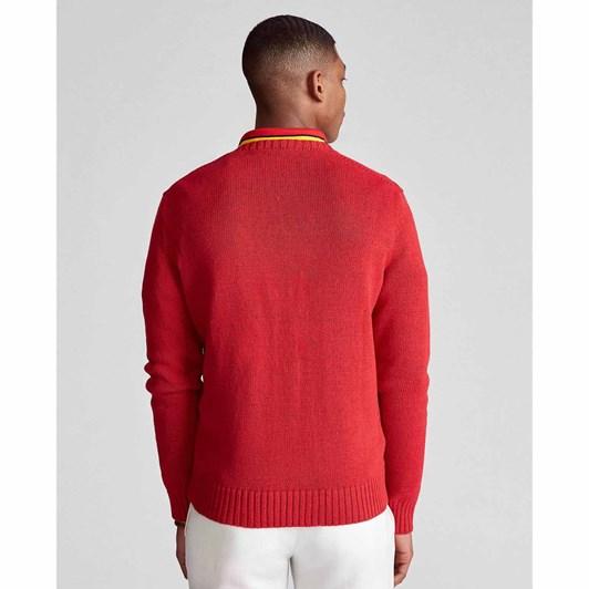 Polo Ralph Lauren Polo Bear Cotton-Linen Sweater