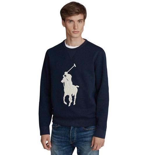 Polo Ralph Lauren Big Pony Double-Knit Sweatshirt