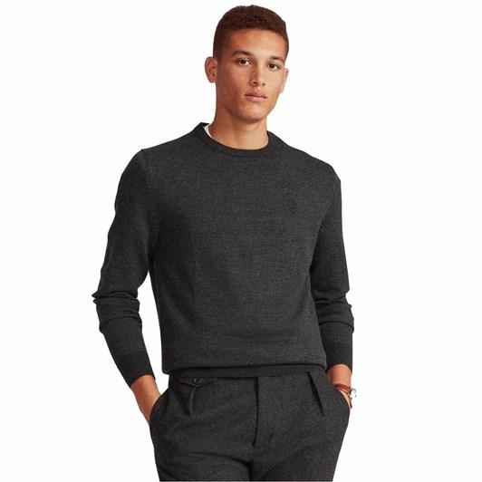 Polo Ralph Lauren Birdseye-Knit Wool Sweater