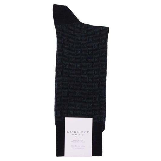 Lorenzo Retro Geometric Socks