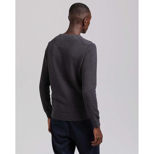 Gant Cotton Piqué Crew Neck Sweater