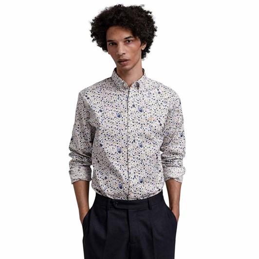 Gant Regular Fit City Branches Print Shirt