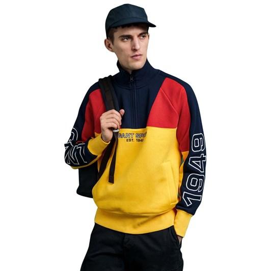 Gant Gant Sport Half Zip Sweatshirt