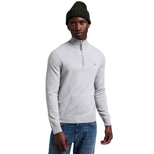 Gant Super Fine Lambs Wool Half-Zip Sweater