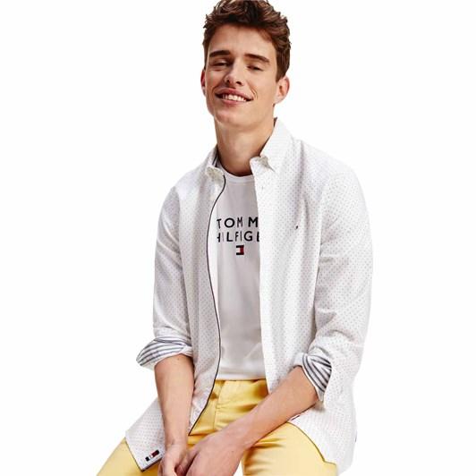Tommy Hilfiger Oxford Mini Print Shirt
