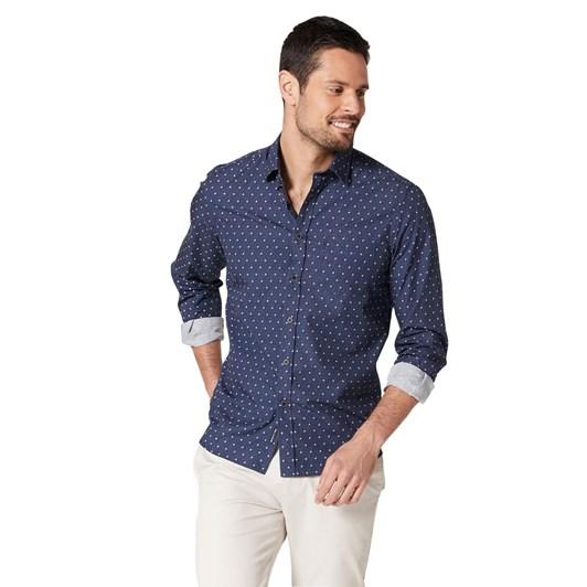 Blazer Lewis L/S Print Shirt