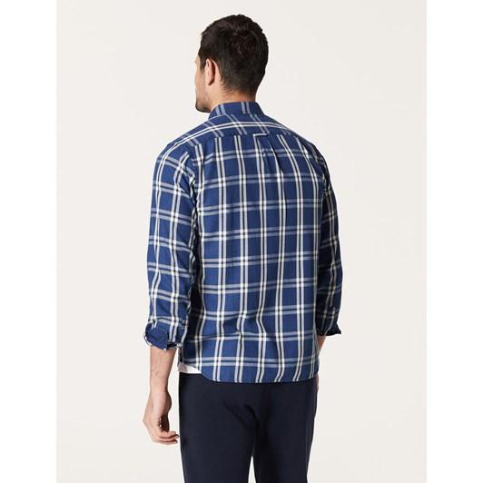 Blazer Aiden L/S Indigo Check Shirt