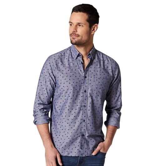 Blazer Andre L/S Print Shirt