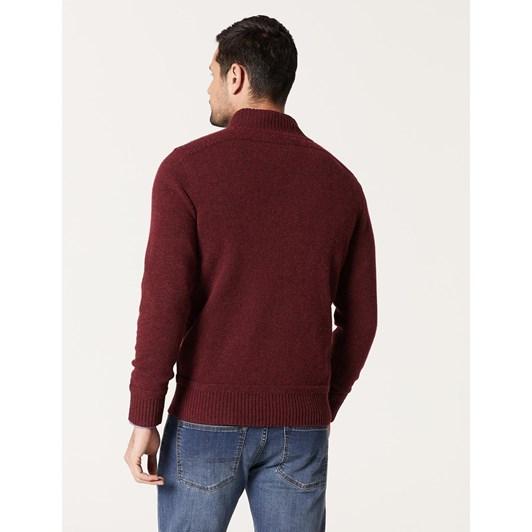 Blazer Hamish Wool Blend 1/2 Zip