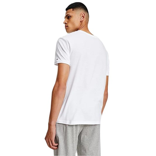 Tommy Hilfiger Nature Tech Tee Log  White