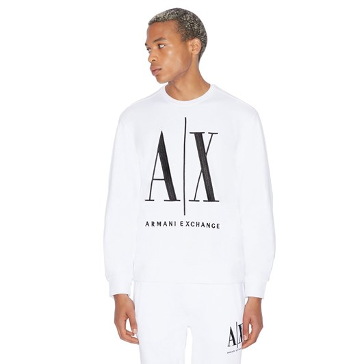 Armani Exchange Cotton French Terry Jersey