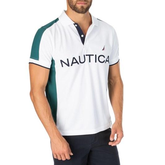 Nautica Ss Rec Navtech Sde Panel Polo