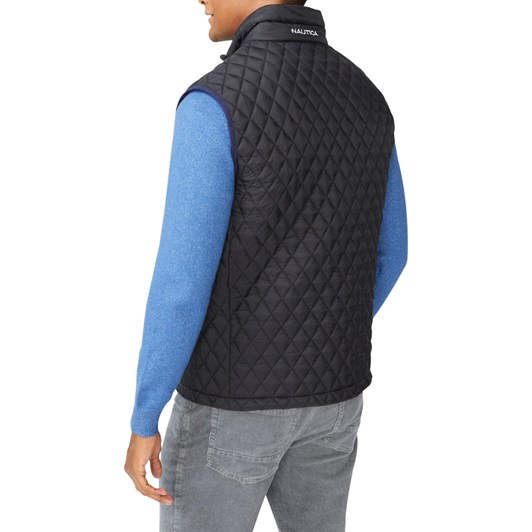 Nautica Diamond Quilted Tempasphere Vest