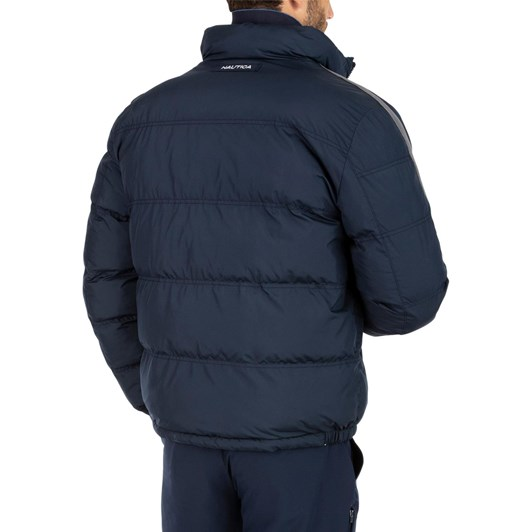 Nautica Solid Reversible Down Bomber